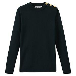 Petit Bateau Green Sailor Sweater